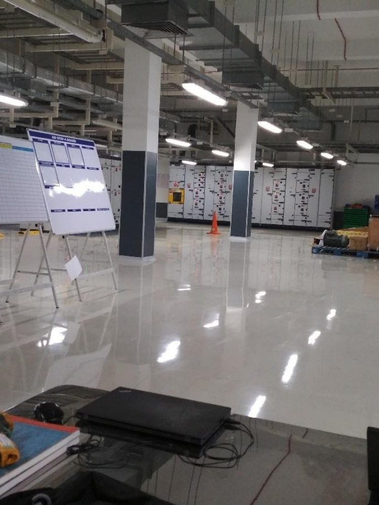 TATA Power Head Office, After retrofitting 2'28W T5 with Single 16W Regain- LED Tube light 68% power saving 2