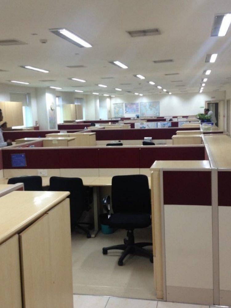 TATA Power Head Office, After retrofitting 2'28W T5 with Single 16W Regain- LED Tube light 68% power saving.